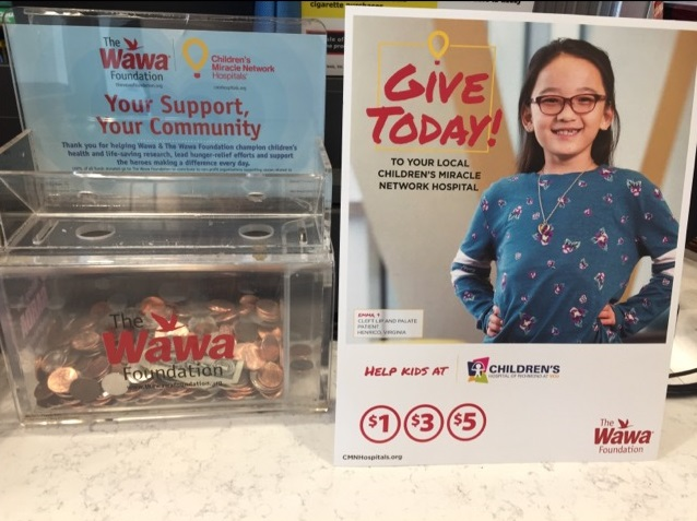 Wawa and The Wawa Foundation campaign is going on now through June ...